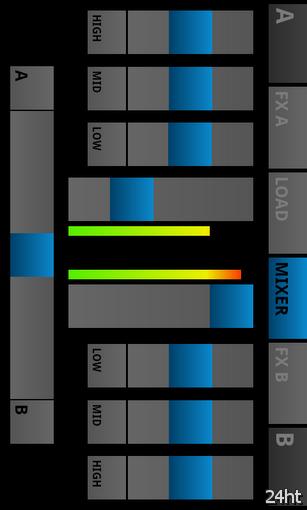 aDJ Pro 0.2 - удобный виртуальный пульт