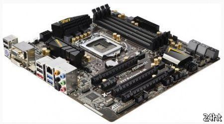 ASRock представила свои материнские платы на базе чипсетов Intel 7 серии