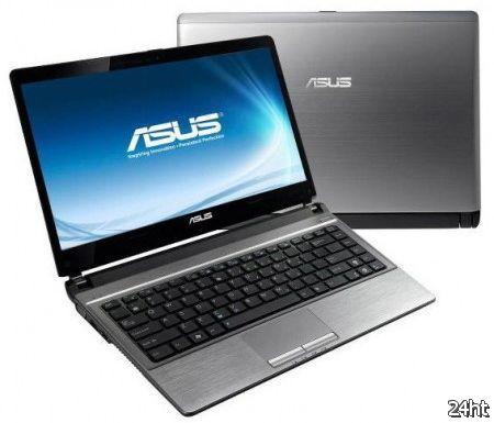 ASUS представила ультратонкий лэптоп U82U на базе платформы AMD