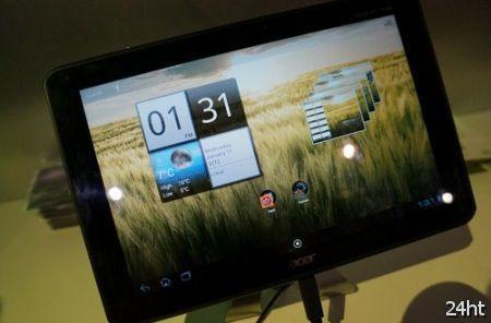 Acer Iconia Tab A510 поступил в продажу в Штатах