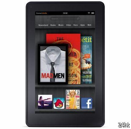 Amazon может выпустить новый Kindle Fire с разрешением Full HD