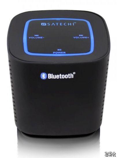 Беспроводная портативная аудиосистема Satechi Audio Cube