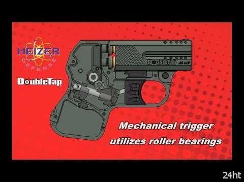 DoubleTap – самый маленький в мире пистолет 45-го калибра