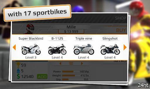 Drag Raсing: Bike Edition – двухколесный форсаж