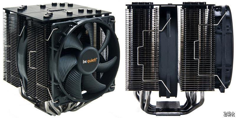 Два новых CPU-кулера башенного типа под брендом be quiet!