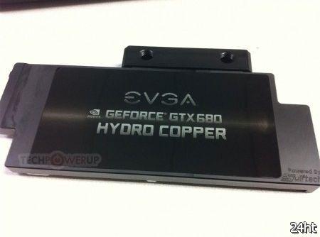 EVGA начала продажи видеокарты EVGA GeForce GTX 680 Hydro Copper