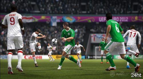 Евро 2012 появится в футбольном симуляторе FIFA 12