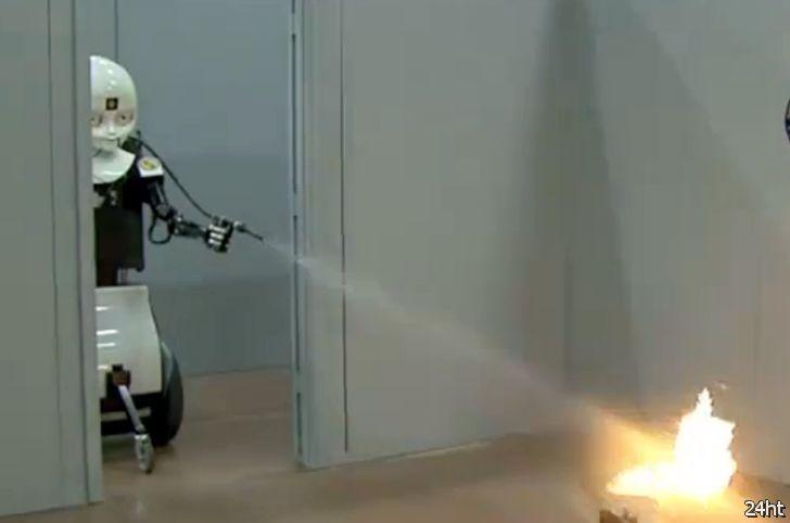 Fire-fighting robots для военно-морского флота