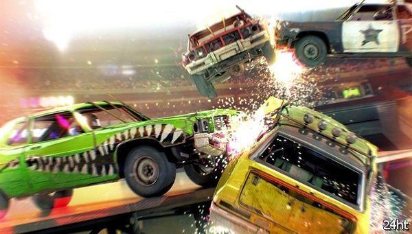 Гоночная игра Dirt Showdown появится в мае