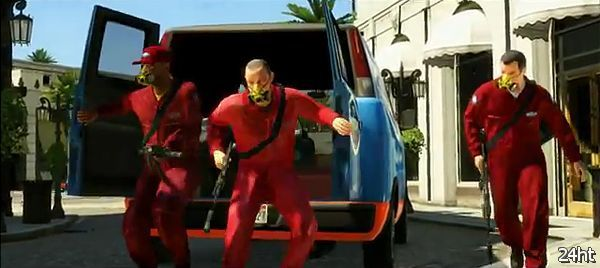 Grand Theft Auto V появится в октябре