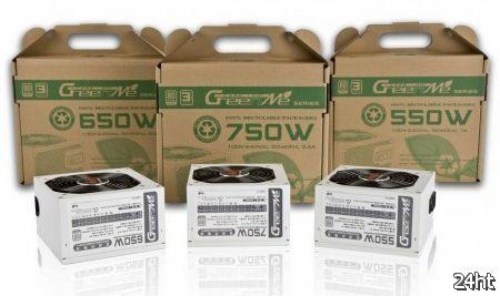 "In Win официально представила ""зеленую"" линейку блоков питания GreenMe"