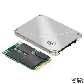 Intel официально представила линейку твердотельных накопителей 313 Series