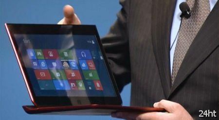 """Intel показала гибридный ультрабук-слайдер """"Letexo"""""""