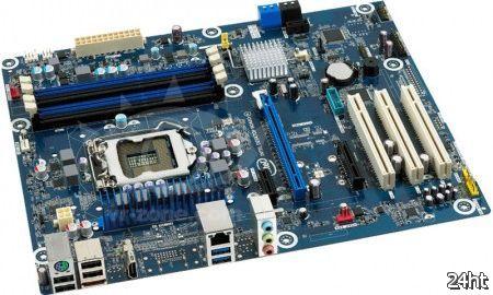 Intel представила новые материнские платы Z77