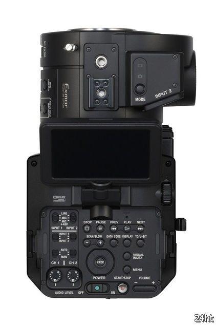 Известны некоторые подробности камеры Sony NEX-FS700E