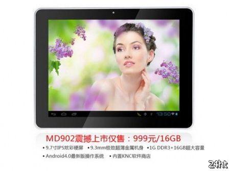 KNC MD902 - китайский планшет с 9.7-дюймовым IPS экраном