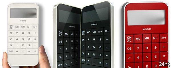 Калькулятор в стиле iPhone (2 фото)