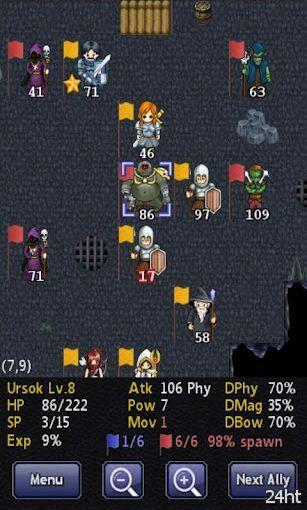 Kingturn RPG - пошаговая стратегия