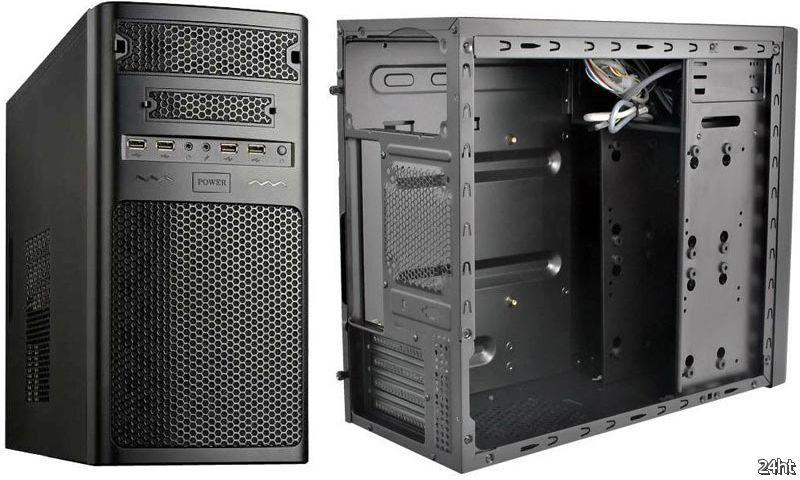 Корпус RASURBO SC-08: компактный, прочный, чёрный