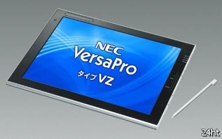 NEC оснастила планшет VersaPro type VZ процессором Celeron 857