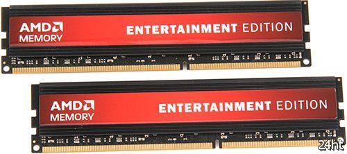 Наборы оперативной памяти AMD Memory Entertainment Edition и их тесты