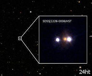 Открыт новый гравитационно-линзированный квазар