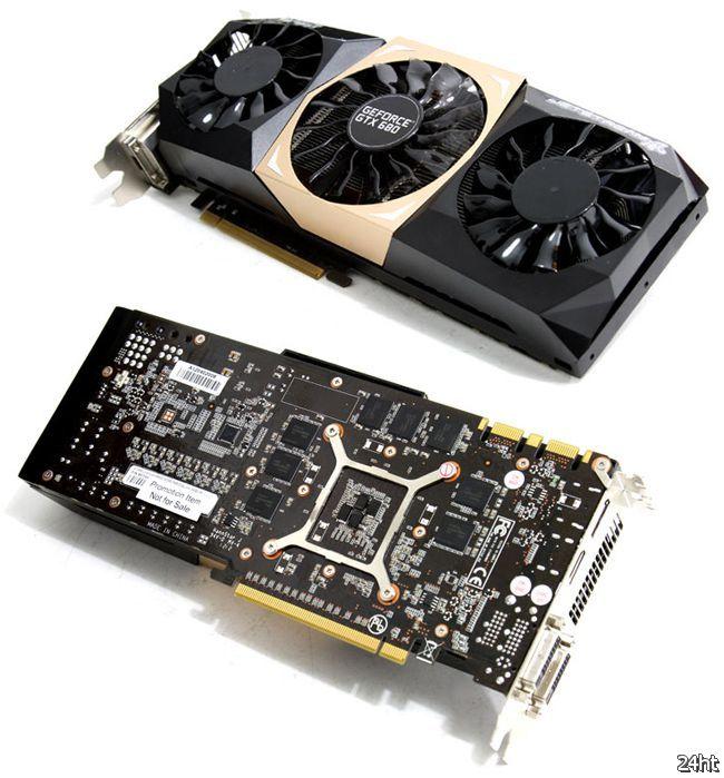 Palit GeForce GTX 680 JetStream с 4 Гбайт памяти GDDR5