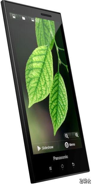 Panasonic объявил о начале Европейских продаж своего смартфона ELUGA