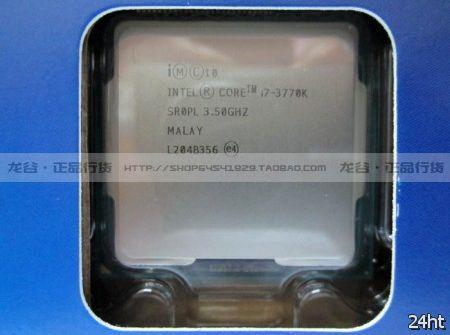 Первые фотографии коробочной версии процессора Core i7-3770K