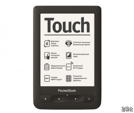 PocketBook Touch – 6-дюймовый ридер с сенсорным экраном E-Ink Pearl