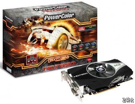 PowerColor представила графическую плату PCS+ HD7850