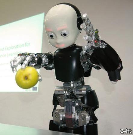 Роботы-дети милые или жуткие?