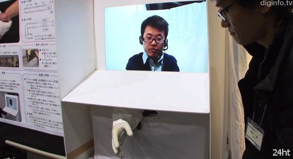 Рукопожатие робота (видео)