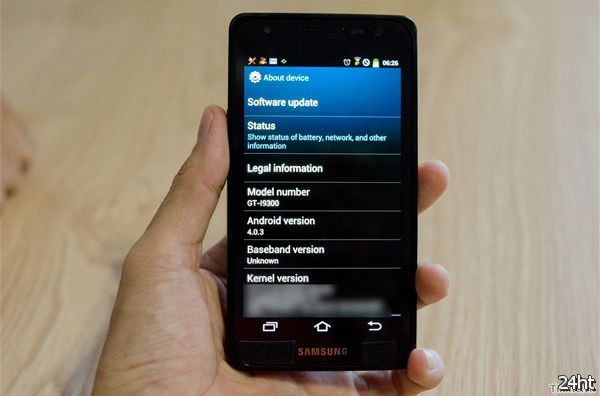 Samsung Galaxy S III - в подробностях на фото и видео