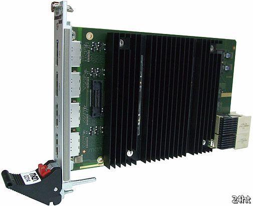 Система вывода изображения на 28 мониторов на базе AMD Radeon E6760