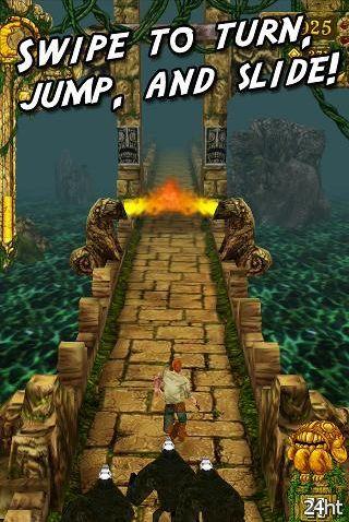 Temple Run – очередной хит перекочевал на Android