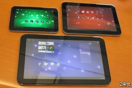 Toshiba представила три новых Android-планшета Excite