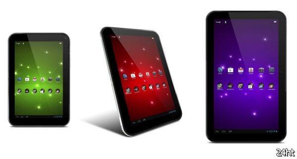 Три новых планшета Excite от Toshiba