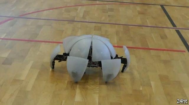 Усовершенствованная версия робота-шара (видео)