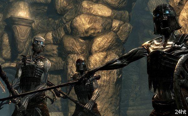 В The Elder Scrolls V: Skyrim появится поддержка манипулятора Kinect