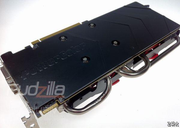 Видеокарта PowerColor HD 7970 Vortex II с частотой работы 1100 МГц