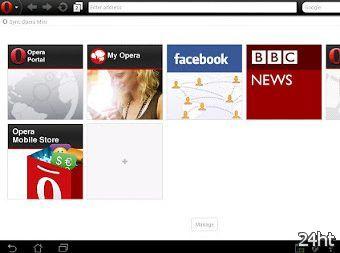 Вышла новая версия Opera Mini для Android