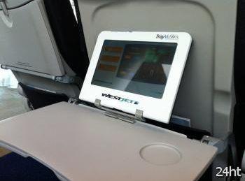 WestJet установит на борту своих самолетов 272 планшета Galaxy Tab