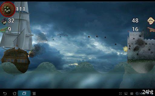 Золотой Век Пиратства 1.01 - уничтожайте корабли и форты
