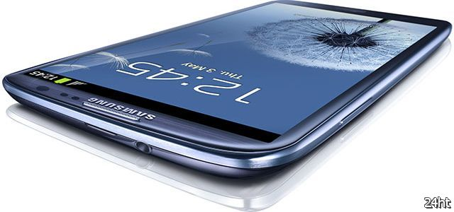 Samsung представила флагманский смартфон Galaxy S III