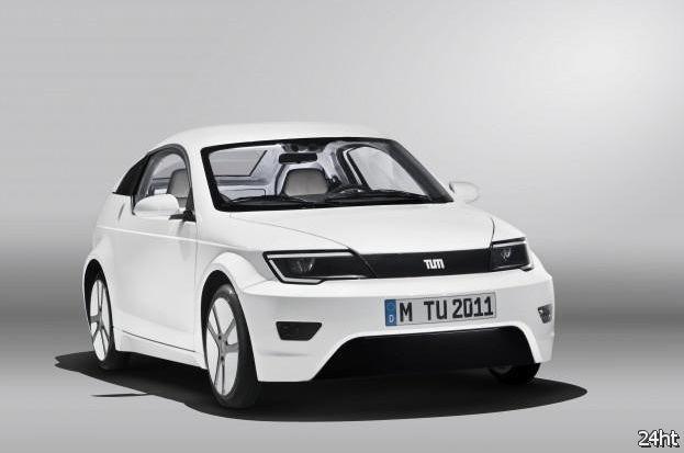 Visio.M: совместный проект BMW и Daimler по разработке городского электромобиля