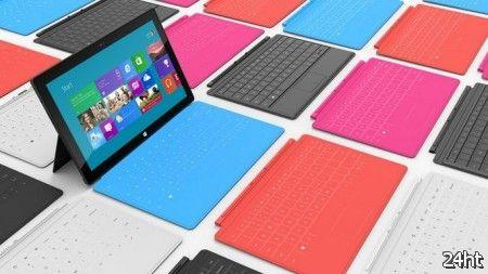 Microsoft показала планшеты Surface под управлением Windows RT и Windows 8 Pro