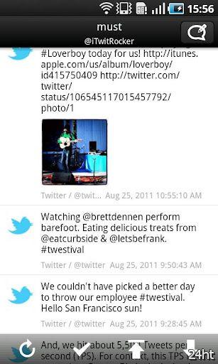 TwitRocker2 - twitter client 1.0.23 - Клиент для Твиттера нового поколения