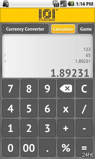 F3 Calculator 1.02 - Обновляемый конвертер валют