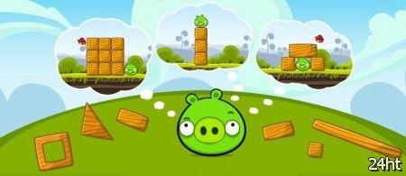 Rovio готовит редактор уровней Angry Birds